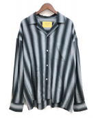 seven by seven(セブンバイセブン)の古着「20AW OPEN COLLAR SHIRTS」|グレー