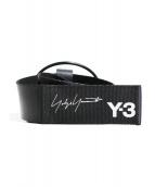 Y-3(ワイスリー)の古着「19AW HOOK BELT」|ブラック