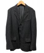 COMME des GARCONS HOMME PLUS(コムデギャルソンオムプリュス)の古着「3Bテーラードジャケット」|ダークグレー