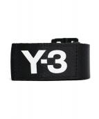 Y-3(ワイスリー)の古着「20AW クラシックロゴベルト」|ブラック