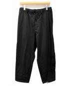 B Yohji Yamamoto(ビーヨウジヤマモト)の古着「ジップデザインパンツ」|ブラック
