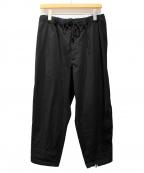 B Yohji Yamamoto(ビーヨウジヤマモト)の古着「ジップデザインパンツ」 ブラック