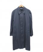 LONDON FOG(ロンドンフォグ)の古着「ステンカラーコート」 ネイビー