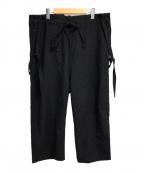 JOHNBULL()の古着「サスペンダー付パンツ」|グレー