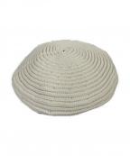 MAISON MICHEL(メゾン ミッシェル)の古着「ベレー帽」|ホワイト