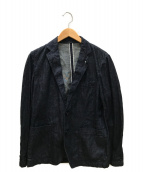 ()の古着「デニムテーラードジャケット」|インディゴ