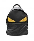 FENDI()の古着「BAG BUGS バックパック」|ブラック