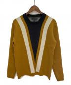 BURBERRY PRORSUM(バーバリープローサム)の古着「カシミヤ混ニット」|ブラウン