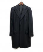 DOLCE & GABBANA(ドルチェ&ガッバーナ)の古着「チェスターコート」|ブラック