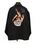 DAIRIKU(ダイリク)の古着「Pinup Girl Washed M65 Jacket」 ブラック