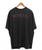 JOHN LAWRENCE SULLIVAN()の古着「SCHEME TEE」 ブラック