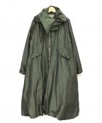 noir kei ninomiya(ノワール ケイ ニノミヤ)の古着「19AW モッズコート」|グリーン
