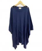 Vivienne Westwood ANGLOMANIA(ヴィヴィアンウエストウッド アングロマニア)の古着「ビッグシルエットTシャツ」|ネイビー
