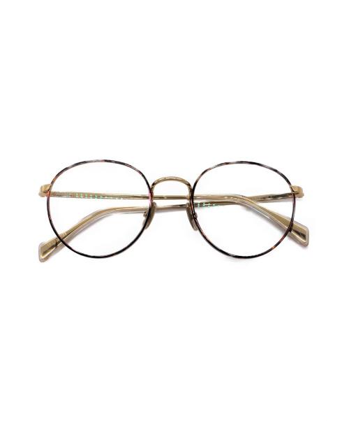 CELINE(セリーヌ)CELINE (セリーヌ) ラウンド眼鏡 ブラウン サイズ:- CL50065Uの古着・服飾アイテム
