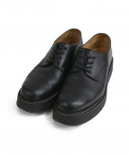 foot the coacher(フットザコーチャー)の古着「ラバーソールシューズ」 ブラック