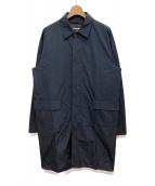 DSQUARED2(ディースクエアード)の古着「ポリエステルステンカラーコート」|ネイビー