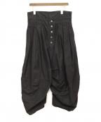 NEMETH(ネメス)の古着「ジョッキーパンツ」|ブラック