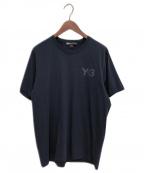 Y-3(ワイスリー)の古着「CLASSIC LOGO Tee」|ネイビー