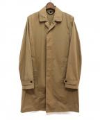BURBERRY PRORSUM(バーバリープローサム)の古着「ステンカラーコート」|カーキ