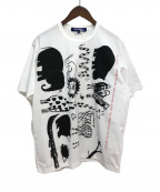 JUNYA WATANABE COMME des GARCONS MAN()の古着「プリントTシャツ」|ホワイト