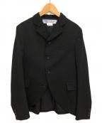 COMME des GARCONS COMME des GARCONS()の古着「4Bジャケット」 ブラック
