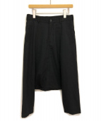 ()の古着「サルエルパンツ」|ブラック