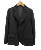 Y's(ワイズ)の古着「ウールギャバジンジャケット」|ブラック