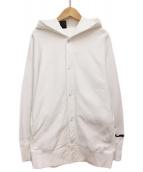 ()の古着「21SS HOODED SHIRT」 ホワイト
