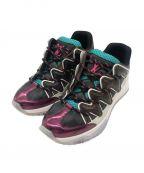 LOUIS VUITTON()の古着「zig zag sneakers」|ブラウン×ピンク