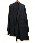 Yohji Yamamoto pour homme(ヨウジヤマモトプールオム)の古着「I-民族Dギャバ」|ブラック