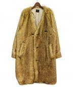 SYU.(シュウ)の古着「20AW フェイクファーコート」|ライトブラウン