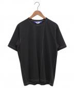 JUNYA WATANABE COMME des GARCONS MAN(ジュンヤワタナベコムデギャルソンマン)の古着「ステッチデザインTシャツ」|ブラック