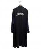 CDG(シーディージー)の古着「スタッフコート」|ブラック