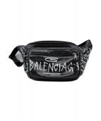 BALENCIAGA(バレンシアガ)の古着「エクスプローラー グラフィティ」 ブラック