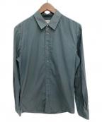 Maison Margiela()の古着「レギュラーカラーシャツ」 グリーン