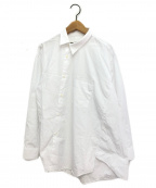 COMME des GARCONS(コムデギャルソン)の古着「アシンメトリーシャツ」 ホワイト