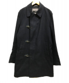 ()の古着「ファイヤーマンコート ステンカラー」 ネイビー
