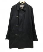 HUGO BOSS(ヒューゴ ボス)の古着「ファイヤーマンコート ステンカラー」|ネイビー