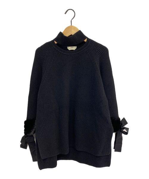 FENDI(フェンディ)FENDI (フェンディ) ホルターネックニット ブラック サイズ:42の古着・服飾アイテム