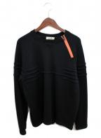 HERMES(エルメス)の古着「ジップデザインニット」|ブラック