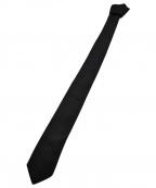 Dior HOMME(ディオール オム)の古着「ナロータイ」 ブラック