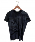 DIOR HOMME(ディオール オム)の古着「プリントTシャツ」 ブラック