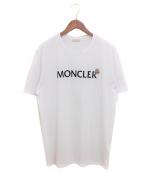 MONCLER(モンクレール)の古着「ロゴTシャツ」|ホワイト