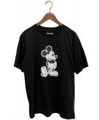 ()の古着「20SS Mickey Mouse crew neck S/」 ブラック