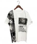 TAKAHIROMIYASHITA TheSoloIst.(タカヒロミヤシタザソロイスト)の古着「E-WAX Edition Print 'Street' T」|ホワイト