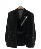 ()の古着「20AW コーデュロイジャケット」|ブラック