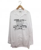 s'yte(サイト)の古着「オープンカラーシャツ」 ホワイト
