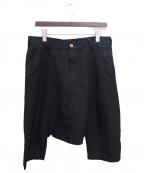 COMME des GARCONS Homme Plus(コムデギャルソン オムプリュス)の古着「サルエルパンツ」 ブラック