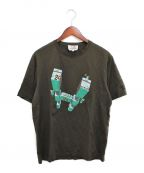 HERMES(エルメス)の古着「プリントTシャツ」|ブラウン