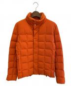 HERMES(エルメス)の古着「フィヨルドメンズダウンジャケット」|オレンジ